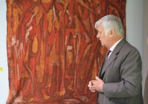 Kurator und Sammler Gerd W. Fiedler
