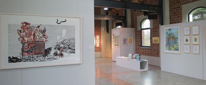 """Galerie: Ausstellung Nadine Respondek """"Aus dem Häuschen"""""""