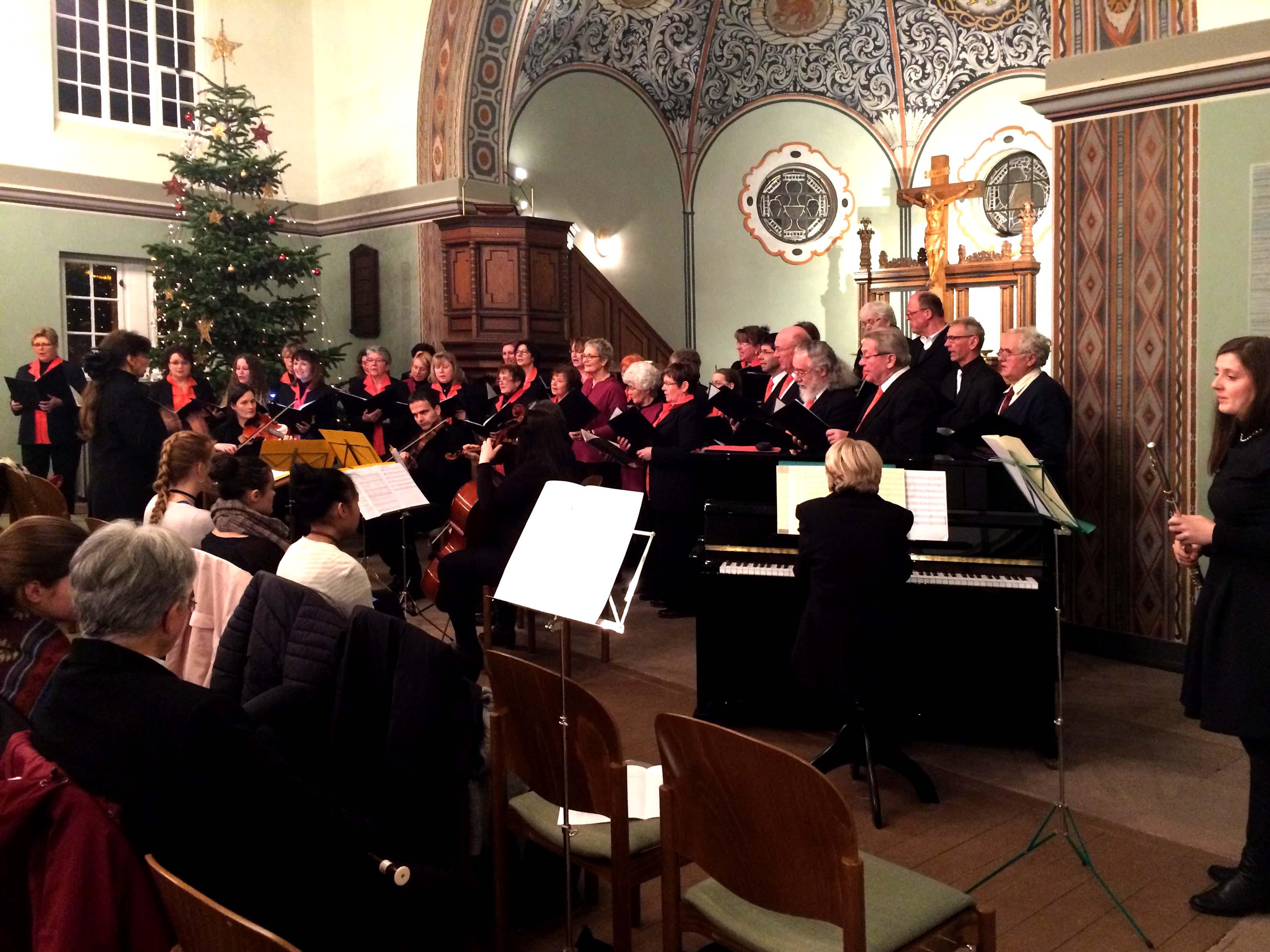 Chortermine 2017: Chor Art Kapella in der Altscherbitzer Kirche